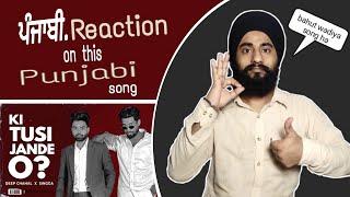KI TUSI JANDE O ? (Punjabi Reaction) DEEP CHAHAL X SINGGA   Latest Punjabi Song 2021 Thumb