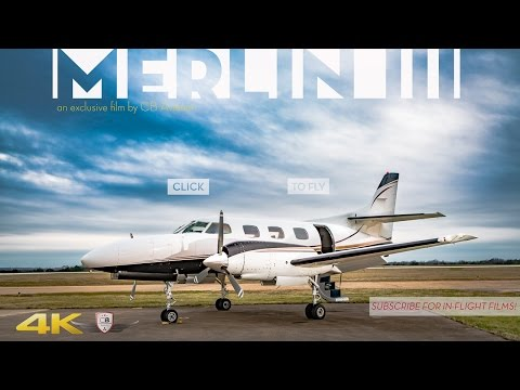 Merlin III Twin Engine Tour In 4K Ultra-HD!