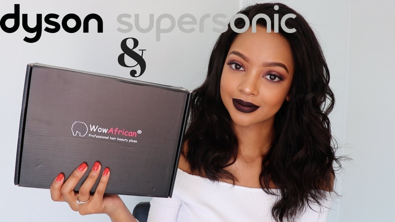 REVIEW: Dyson Supersonic Dryer & WOWAfrican Hair | Mihlali N