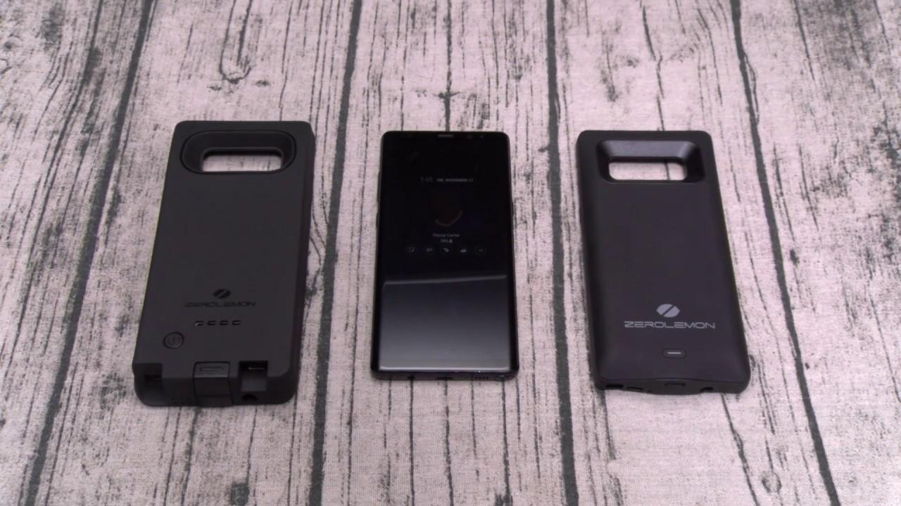the best attitude e41b1 6a6c3 Samsung Galaxy Note 8 - Zerolemon 10,000mAh Extended Battery Case