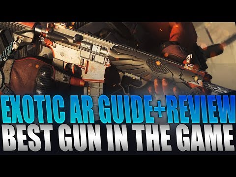 The Division 2 - Exotic AR How To Get Guide+Review   Best Gun In The Game!