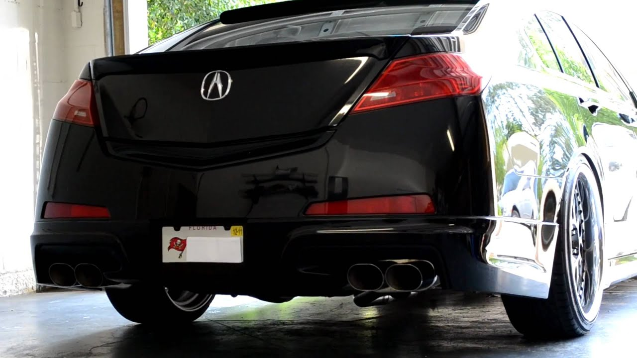 SH-AWD TL WITH NEW XLR8 EXHAUST SOUND CLIP - YouTube on