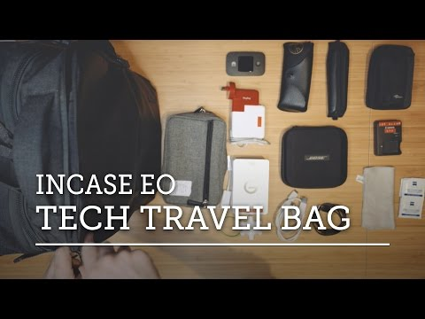 WHAT'S IN MY TECH TRAVEL BAG? — Incase EO Travel Backpack