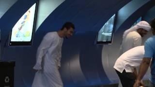 Dubai Jurassic World dinosaur prank