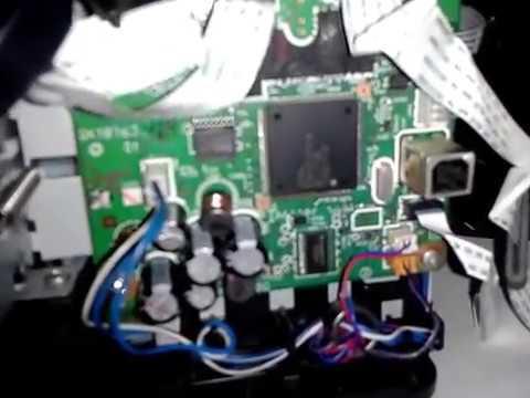 Canon Mp287 เป ดไม ต ด ต ดแล วด บ No Power On Fix By Replace Motor