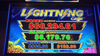 High Limit Live Play - TOP DOLLAR - LIGHTNING LINK