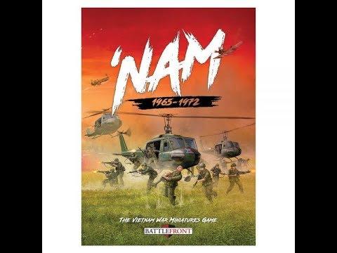 Review - 'Nam The Vietnam War Miniatures Game by Battlefront Miniatures & Osprey Games (Nam)