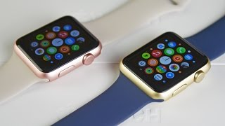 Apple Watch Sport - Gold & Rose Gold (Unboxing & Comparison)