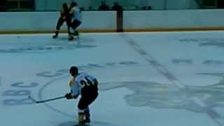 Patrick White Goal (Sarnia Sting Training Camp) - August 27, 2013