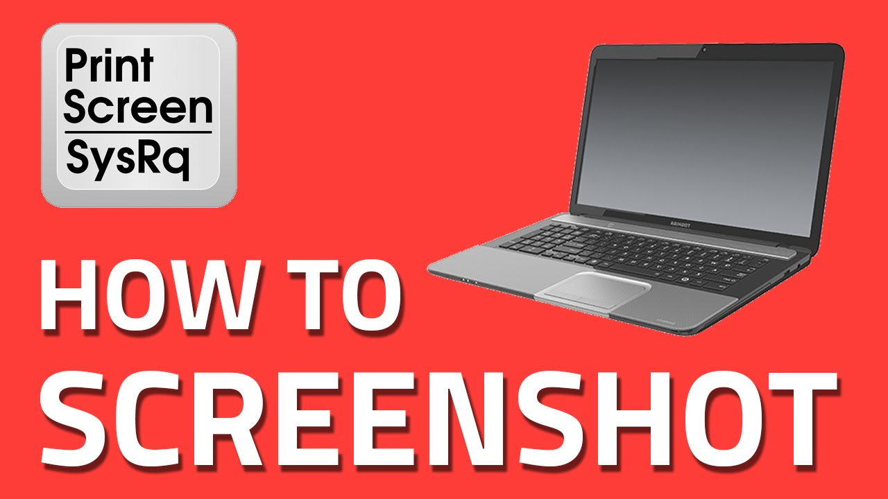 Screenshot On Toshiba Laptops A Simple Step By Step Guide Youtube