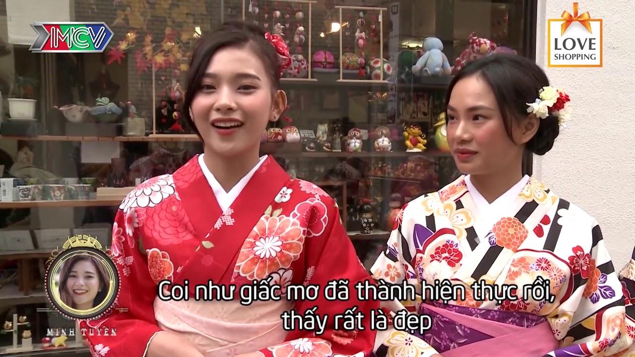 5 cô gái Việt Nam CỰC XINH hào hứng diện kimono dạo phố Tokyo Nhật Bản 😍
