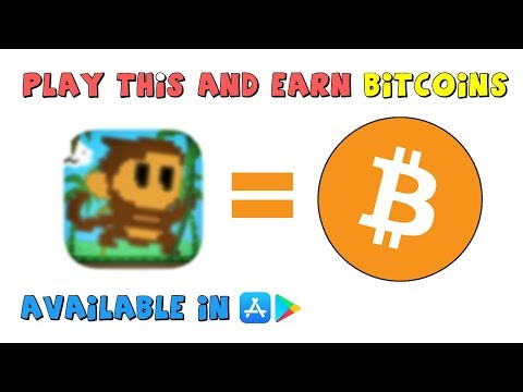 Earn Bitcoin By Playing Mobile Games //AJC Money
