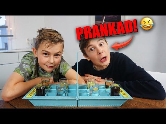 PRANK → Riggad Drink Challenge! | 'Det här är ju FARLIGT!?!' | Crash Brothers
