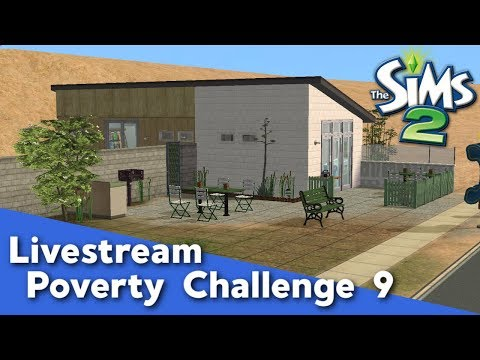 The Sims 2 Poverty Challenge #9 - Pleasant Sims Livestream thumbnail