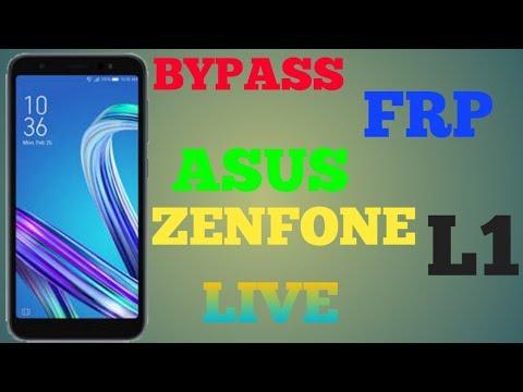 Bypass frp account google asus zenfone live L1 X00RD 8.0 OREO tanpa pc