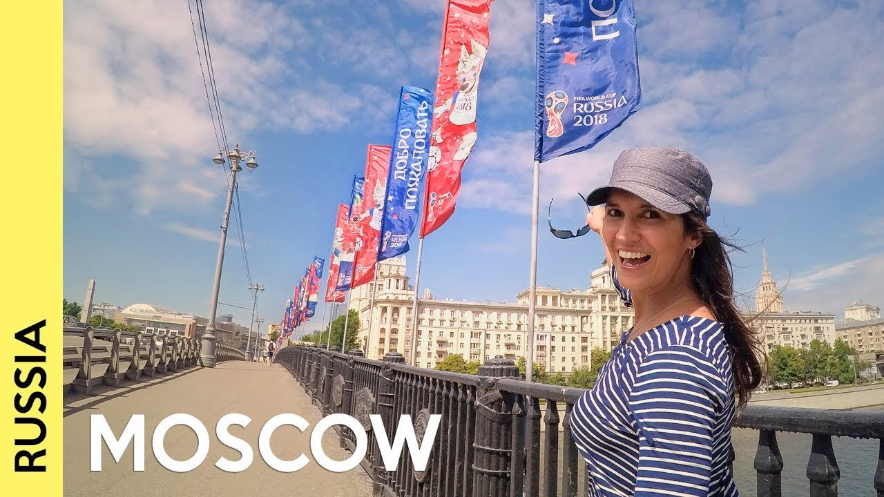 MOSCOW: World Cup 2018, fans & city tour (vlog)