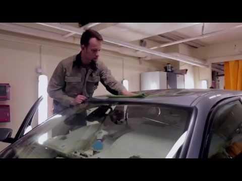 """Удаление глубокой вмятины на крыше BMW 5 серии в """"АвтоТОТЕММ"""" на Варшавке"""