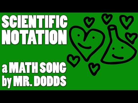 Colin Dodds - Scientific Notation (Math Song)