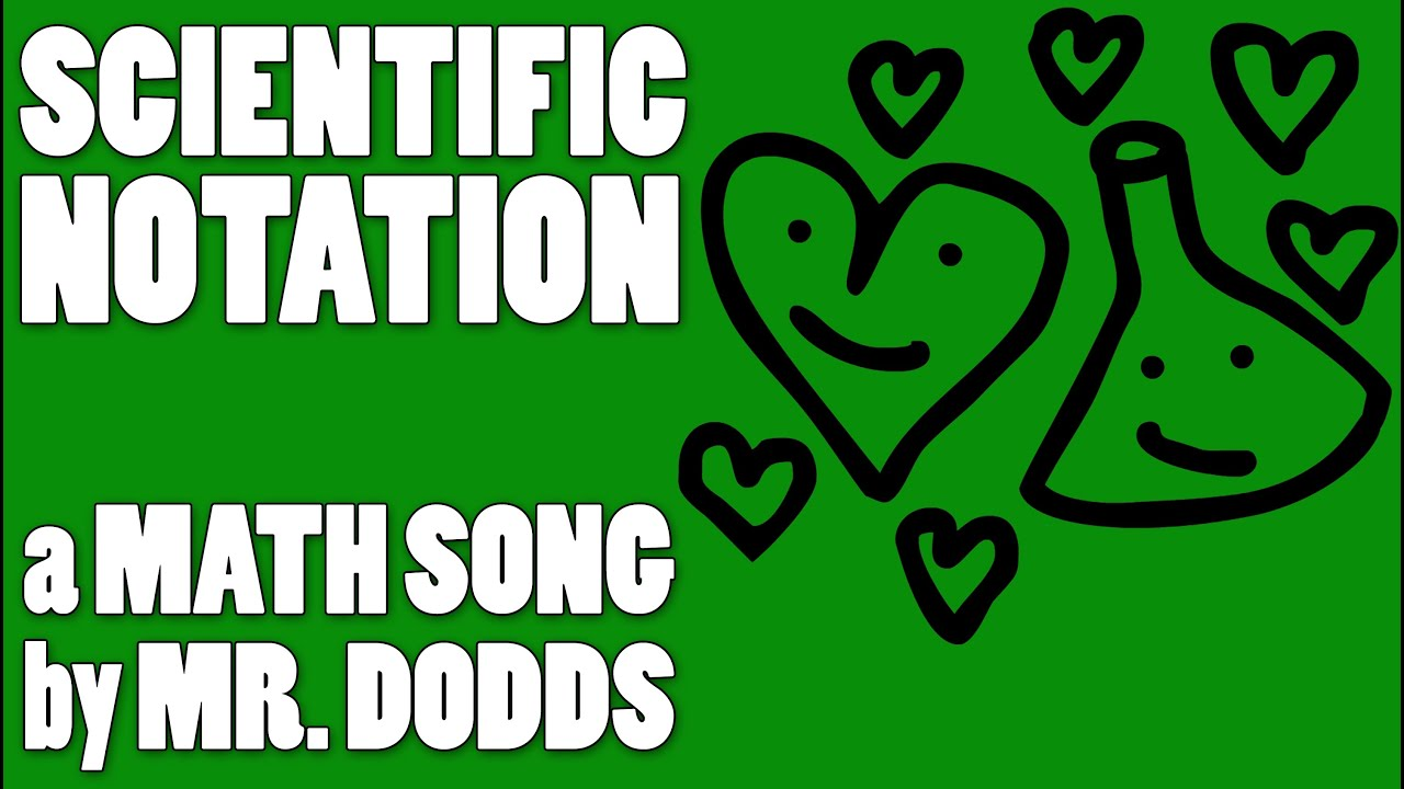 Colin Dodds - Scientific Notation (Math Song) - YouTube