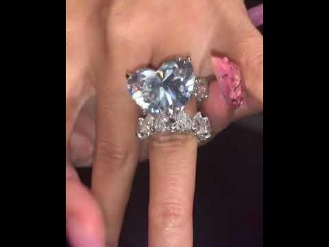 Cardi b titanic diamond ring