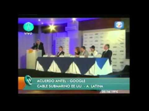 Instalarán cable submarino de fibra óptica desde EEUU a Uruguay