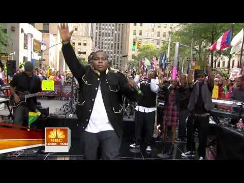 [1080p] Sean Kingston - Fire Burning @ (Today Show 09.07.2009 ) HD