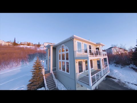 FPV Real Estate - Indoor Drone Through Beautiful Home w/ VIEWS!