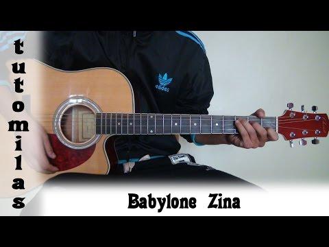 tuto guitare Babylone Zina
