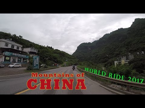WORLD RIDE 2017 || EP. 18 || CHINA,Zhaotang to Leshan