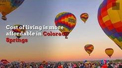 Why to live in Colorado Springs vs. Denver