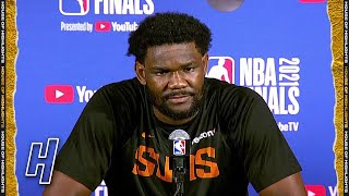 DeAndre Ayton Full Interview - Game 6 Preview   2021 NBA Finals Media Availability