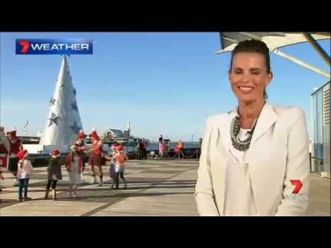 Channel 7 News introduces the weather report from Geelong