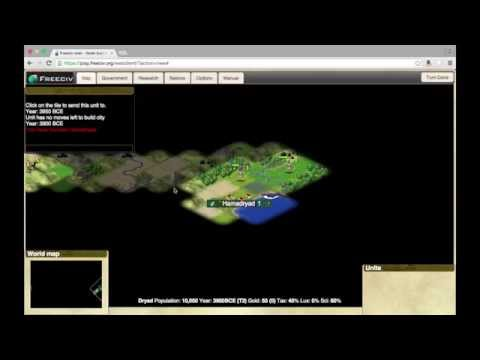 Let's Play FreeCiv Part 1
