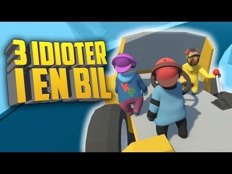 3 IDIOTER I EN BIL