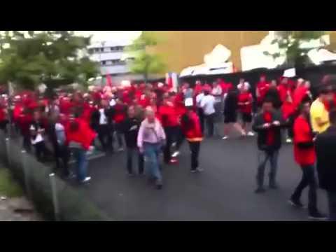 Match de foot Albanie-Suisse Lucerne