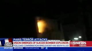Baixar footage of Paris attacks female suicide bomber blowing herself up