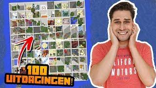 100 Bizarre Minecraft Uitdagingen! 😱