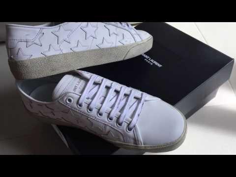 Saint Laurent sneakers with stars |Saint Laurent sneakers con estrellas