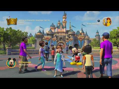 Disneyland Adventures Xbox One X Test Video Review FR HD (N-Gamz)