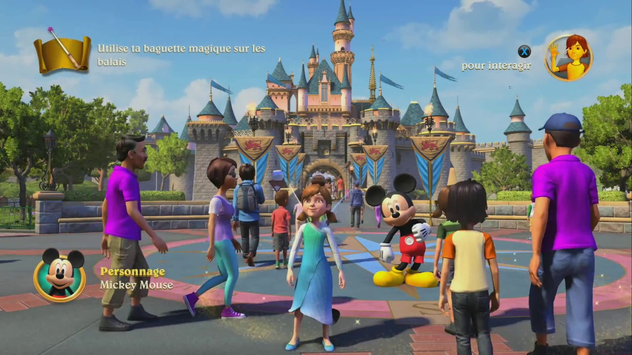 Disneyland Adventures Xbox One X Test Video Review Fr Hd N Gamz