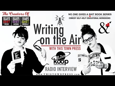 Writing on Air Radio Interview with This Town Press - Austin
