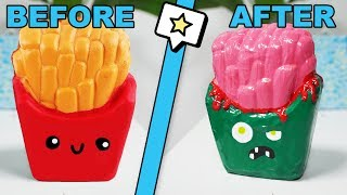 Trying To Makeover Squishies For The First Time!