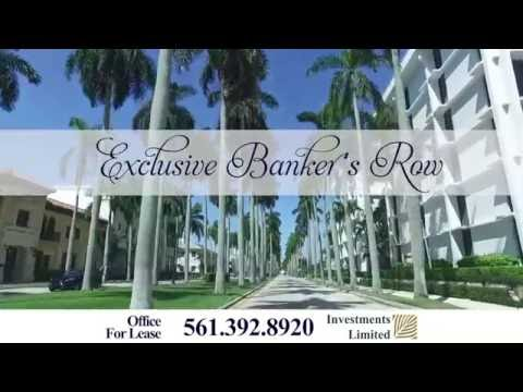 Gorgeous Office For Lease on Banker's Row in Palm Beach, FL