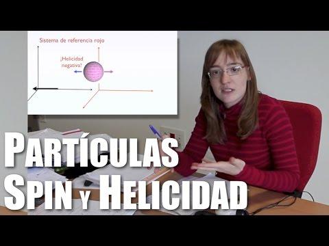 ¿Qué es la helicidad de las partículas?