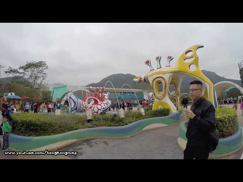 【Hong Kong Walk Tour】Ocean Park (Birthday Free-ticket Edition)