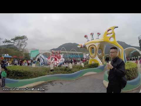 【Hong Kong Walk Tour】Ocean Park (Birthday Free-ticket Edition) in extensive walking tour 香港人嘅海洋公園
