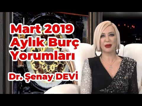 Mart 2019 Aylık Burç Yorumları Dr Astrolog şenay Devi Youtube