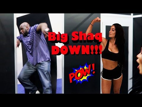Epic Rematch Against Shaq | Natalie Eva Marie
