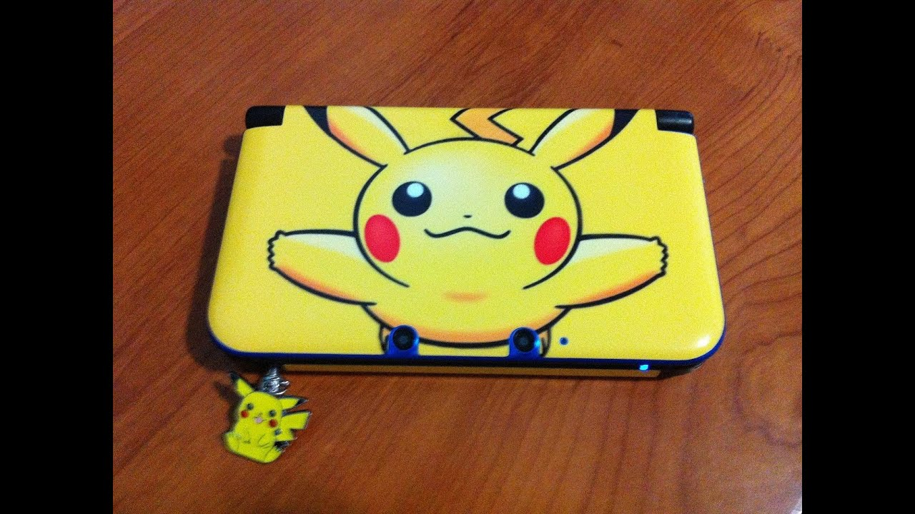Gelaskins Custom Pokemon Theme Skin Nintendo 3ds Xl