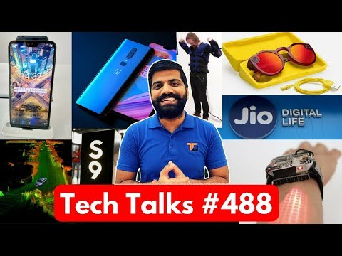 Tech Talks #488 - Google I/O'18, Nokia N9?, Oneplus 6 Super Slo Mode, Disney Force Jacket, Redmi S2